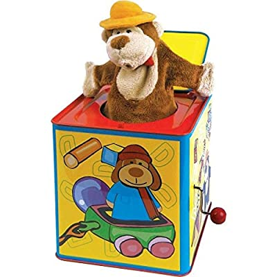 Animal Jack-in-the-box: Toys & Games