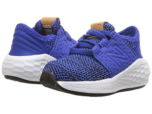 [new balance(ニューバランス)] メンズランニングシューズ?スニーカー?靴 KVCRZv2I Knit (Infant/Toddler) Team Royal/Black 9.5 Toddler (16.5cm) M