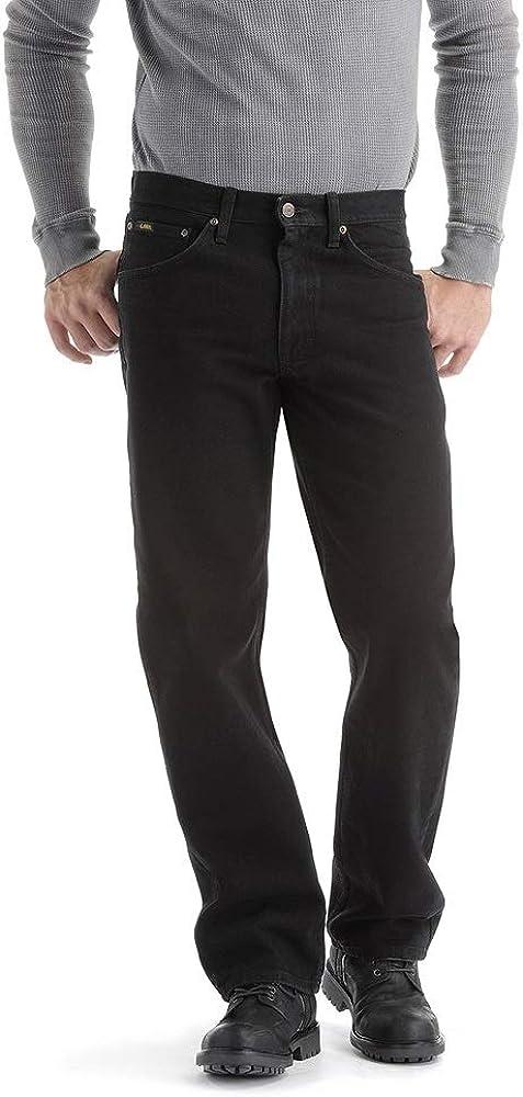 Lee Hombre Big-Tall ajuste Regular pernera recta Jean