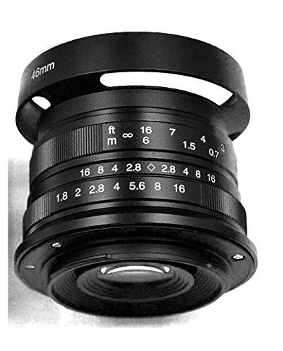 Hengyijia 25mm F1 8(ブラック)HD MC Fujifilm 富士フイルム Xマウントカメラ用のマニュアルフォーカス(MF)レンズ