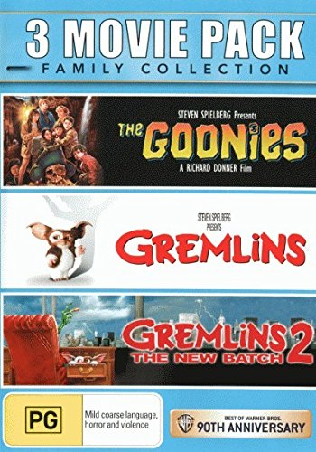 The Goonies + Gremlins + Gremlins 2 - The New Batch [NON-USA Format / PAL / Region 4 Import - Australia]