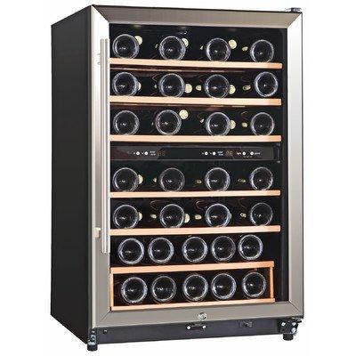 45 Bottle Dual Zone Freestanding Wine Refrigerator (Kings Bottle Wine Fridge compare prices)