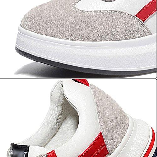 Rojo 6 Primavera Rojo 5 Grueso Zapatillas Libre Fondo Aire Eu36 230mm Mujer De Zapatos uk4 Tamaño Tamaños l color Liangjun Al wRvpt1qxO