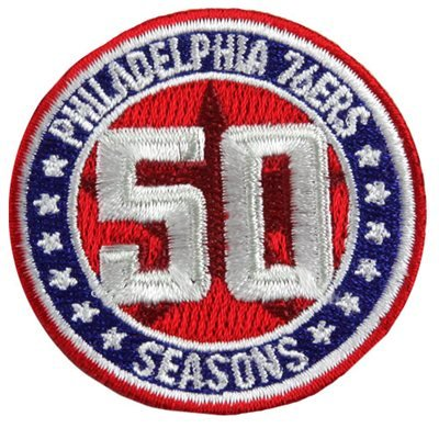 Philadelphia 76ers 50th Anniversary 2