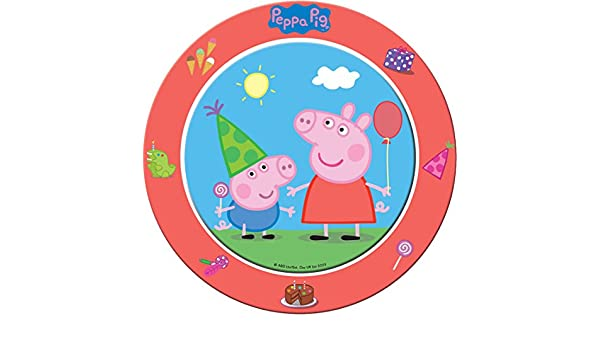 8 Platos cartón Peppa Pig 23 cm: Amazon.es: Juguetes y juegos