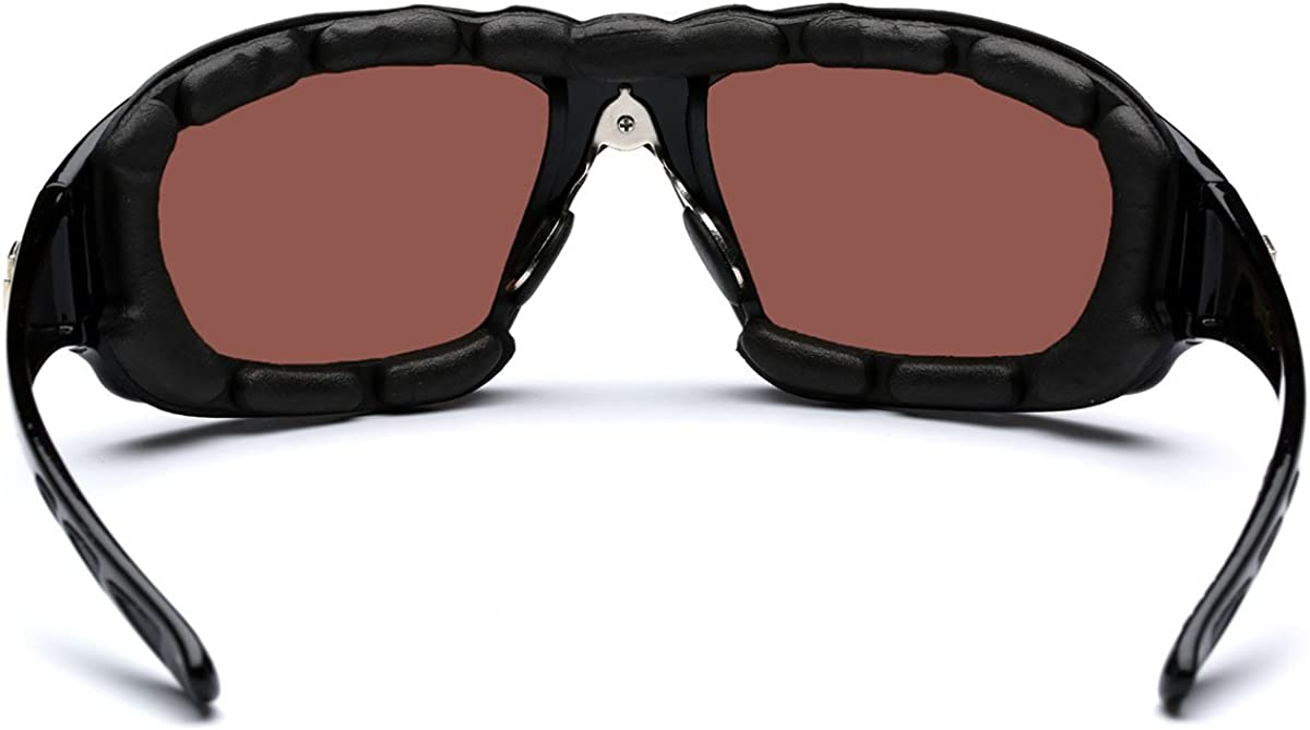 Choppers Sunglasses Clear Lenses Biker Riding Motorbike Motorcycle UV400
