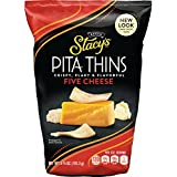 Stacy's 5 Cheese Flavored Pita Thins, 6.7 Ounce (Pack of 8)