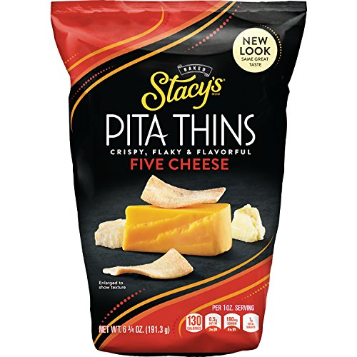 Stacy's Pita Crisps, Garlic and Herb, 6.7 Ounce (Pack of 8)