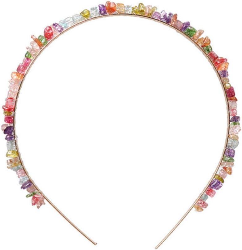Empty Diademas de Piedras Hechas a Mano Diademas de Perlas Diademas de Playa de Verano Accesorios para el Cabello