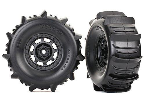 Traxxas 8475 Reifen & Felge montiert BFGoodrich Paddle (2) schwarz/Orange