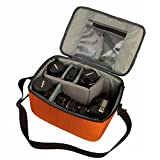G-raphy Waterproof SLR DSLR Digital Camera Bag Camera Insert Inner Case Bag Protection Case with Top Handle Shoulder Strap Handbag Storage Bag Carry Bag for Sony Canon Nikon Olympus Pentax and etc
