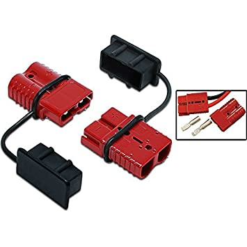 amazon com tuff stuff winch quick connector 2 gauge wire automotive rh amazon com 12V Lighted Switch Wiring 12v wiring connector sets