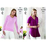 f4c5019d3 Wendy Ladies Swing Tunic Top   Shawl Supreme Knitting Pattern 5665 ...