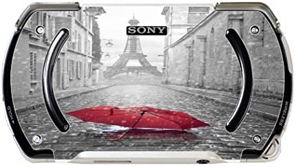 > > > Decal Sticker < < < Red Umbrella In Paris Design Print Image PSP Go Vinyl Decal Sticker Skin by Trendy Accessories by Trendy Accessories
