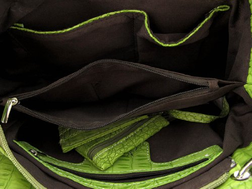 Verde Al Para Zeckos Mujer Bolso Hombro xAXUqOzw