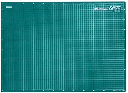 Olfa CM-A2 | Self-Healing 2-Sided Cutting Mat Imperial/Metric Grid | 600 x 430mm by OLFA