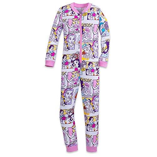 Disney Store Princess Pj (Disney Princess Stretchie Sleeper For Kids Size 6)