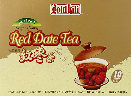 Gold Kili Honey Longan with Red Date instant Tea, 10 -
