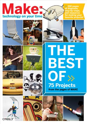 The Best of Make: (Make 75 Projects from the pages of MAKE) (Best Art Magazine Subscriptions)