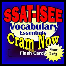 SSAT - ISEE Prep Test VOCABULARY REVIEW Flash Cards-CRAM