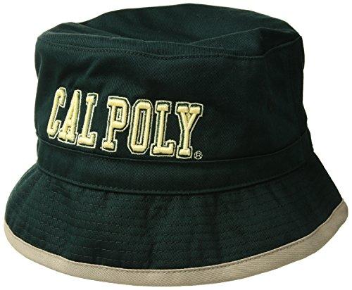 W Republic NCAA Cal Poly Mustangs Freshman Bucket, Small/Medium, (Poly Bucket)
