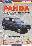 Fiat Panda 1981-94 (Porter Manuals) by Porter Manuals (1998-09-25)