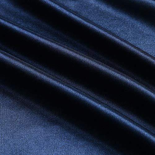 Dormir Kimono Interior Traje Unid Baño Sexy Mujeres Azul Mymyguoe Bata Ropa De Albornoz 1 Seda Encaje Camisón qPwXcHR