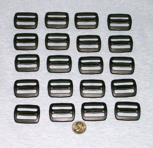 20 1 Inch Plastic Triglides Slides