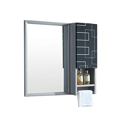 Strange Amazon Com Stainless Steel Bathroom Mirror Side Cabinet Download Free Architecture Designs Viewormadebymaigaardcom