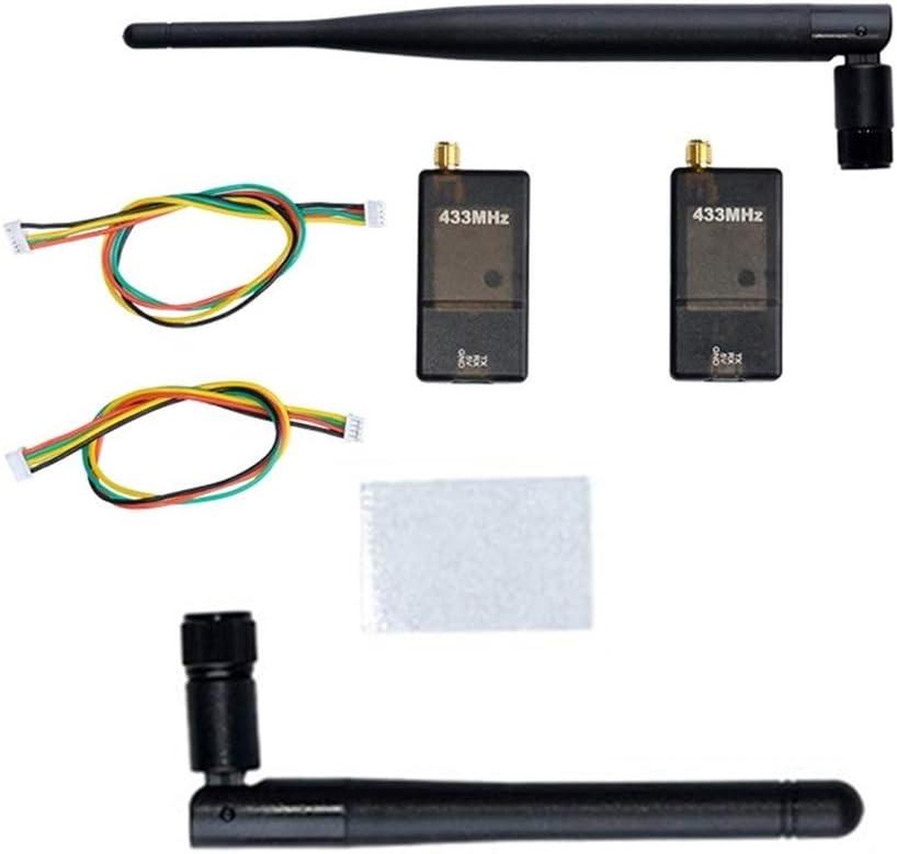 ICQUANZX Nueva Radio de transmisión de Datos inalámbrica 3DR 433Mhz 100mW RX + TX Telemetría con OTG para APM2.6 2.8 Pixhawk FPV System