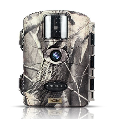 ARTITAN Trail Camera 16MP 1080P Motion Activated Game Hunting Deer Cam No Glow IR Light Night Vision up to 65ft with Time Laspe Function IP65 Waterproof for Wildlife Observation Home (Shot Activated Timer)