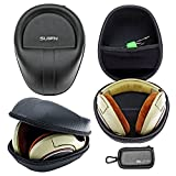 JHGJ Hard Carrying Headphones Case for SONY MDR-ZX100 ZX700 MDR-Z7 Z700 MDRRF985RK MDR1RNC MDR1RBT MDR1R MDRX10 Headset Headphone and SUIFN Case