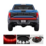 Carrep Universal Truck Tailgate Strip Light Side Bed Light Strips 5 Function Waterproof Turn Signal, Parking, Reverse,Brake Lights (59 Inches)