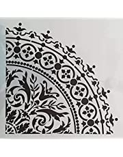 Stencils, wall decorations, print and drawing 30x30