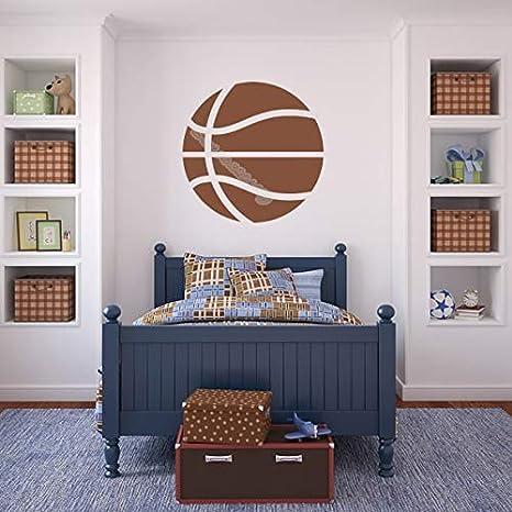 Balón de baloncesto American Sports etiqueta de la pared niños ...