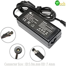 YTech® 65W AC Power Adapter/Battery Charger for HP Probook 430 645 650 655 G1 G2,HP Pavilion G32 G42 G50 G60 G62 G70 G71 G72 PA-1650-02HN 2540p 2560p 2570p 2730p 2740p Laptop Charger Power Cord