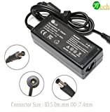YTech 65W AC Power Adapter/Battery Charger for HP Pavilion G4 G6 G7 M6 DM4 DV4 DV5 DV6 DV7 G60 G61 G72; Probook-Elitebook-Compaq-Presario