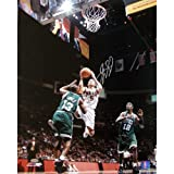 NBA New Jersey Nets Jason Kidd Home Lay-Up vs. Celtics Photograph, 16x20-Inch