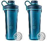 2 Pack Blender Bottle Radian 32 oz. Tritan Shaker Bottle with...