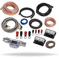 InstallGear Dual 1/0 Gauge Amp Kit Ga Amplifier Installation Wiring True Spec and Soft Touch Wire