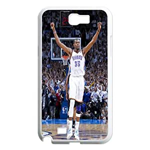 Oklahoma City Thunder Kevin Durant Pattern Productive Back Phone Case For Samsung Galaxy Note 2 Case -Style-20