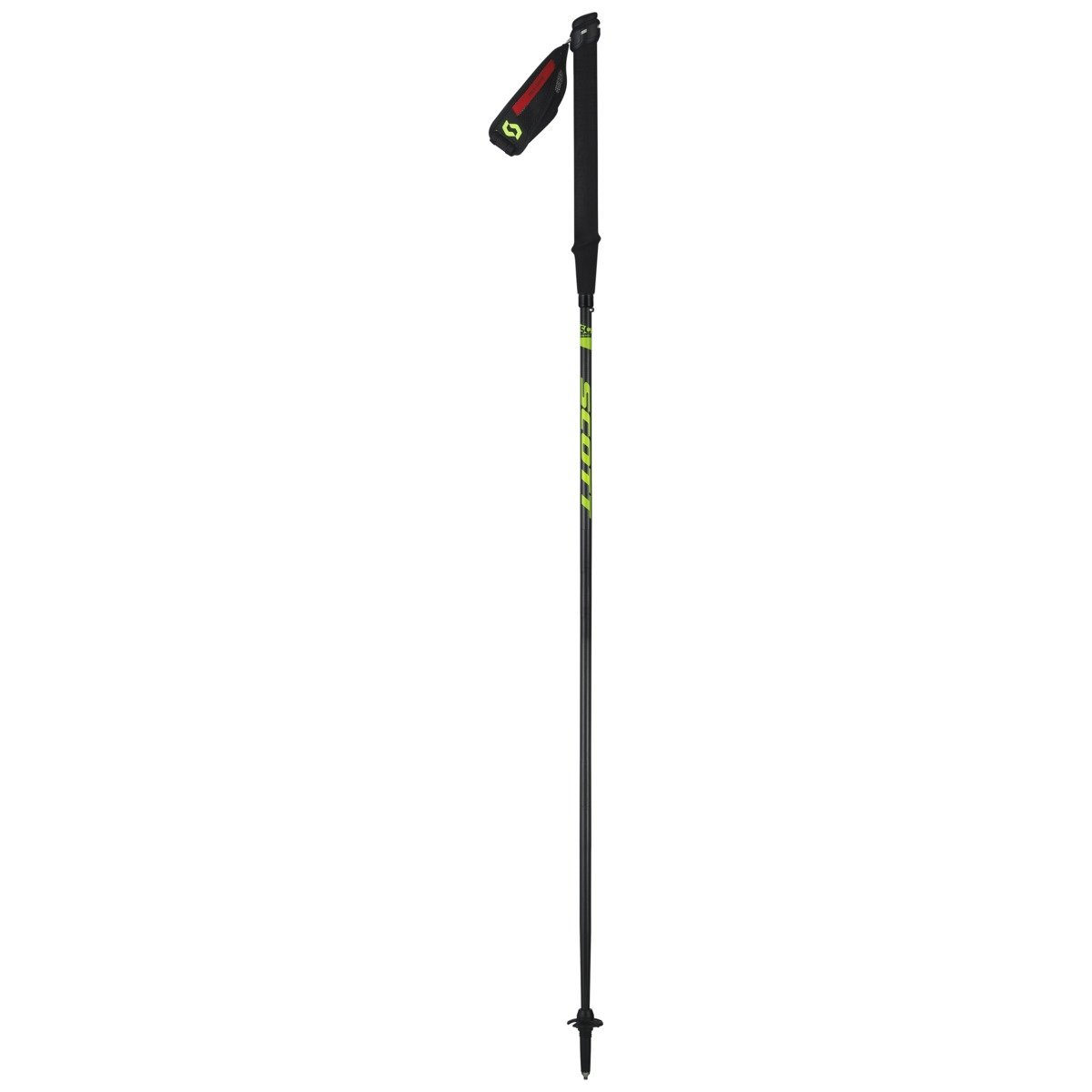SCOTT(スコット) Running Pole RC 3-part bk 130 2398690001082 ブラック 130cm   B06XCL4N9S