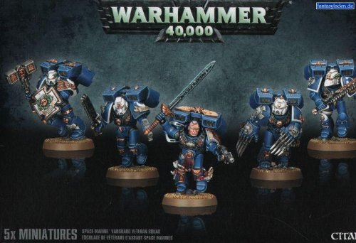 Games Workshop 2013 Space Marine Vanguard Veteran Squad Plastic