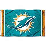 WinCraft Miami Dolphins Large NFL 3x5 Flag