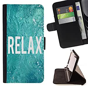 - Relax - - Style PU Leather Case Wallet Flip Stand Flap Closure Cover FOR Apple Iphone 6 PLUS 5.5 - Devil Case -