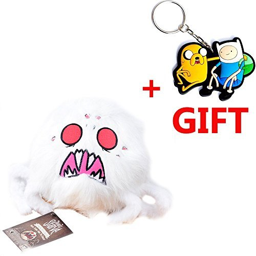 Don't starve Hissing Spider plush toy for kids collectible replica (4 sounds) hissing WHITE spider plush (Girls Magic Hat Bunny Costume)