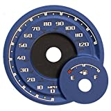 Us Speedo Blue Dayton Edition 3D 2013 - 2017 Dodge Ram 1500 & 2500 Gas