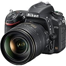 Nikon D750 Digital SLR Camera Body & AF-S 24-120mm f/4 G VR ED Zoom-Nikkor Lens (Certified Refurbished)