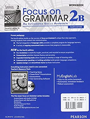 Focus on Grammar 2b Student Book with Myenglishlab and 2b Workbook Pack: Amazon.es: Schoenberg, Irene E.: Libros en idiomas extranjeros