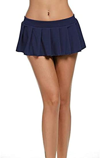 Minifalda Falda de Colegiala Señoras Minifalda Corta Faldas ...